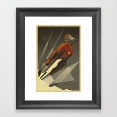 The Star-Lord Framed Art Print