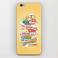 Reading list iPhone & iPod Skin