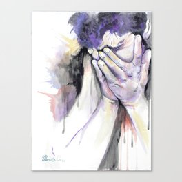 Stand Alone: Remorse  Canvas Print