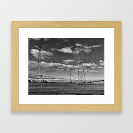 THE BIG GUYS Framed Art Print