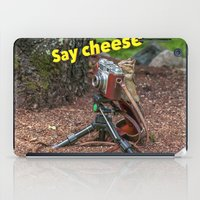photographer iPad Cases featuring Photographer by Robert Raney