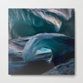 Stuck in the Sea Metal Print