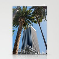 ashton irwin Stationery Cards featuring Robert Irwin Primal Palm Garden by The Horticult