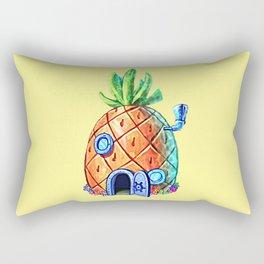 Spongebob House Rectangular Pillow