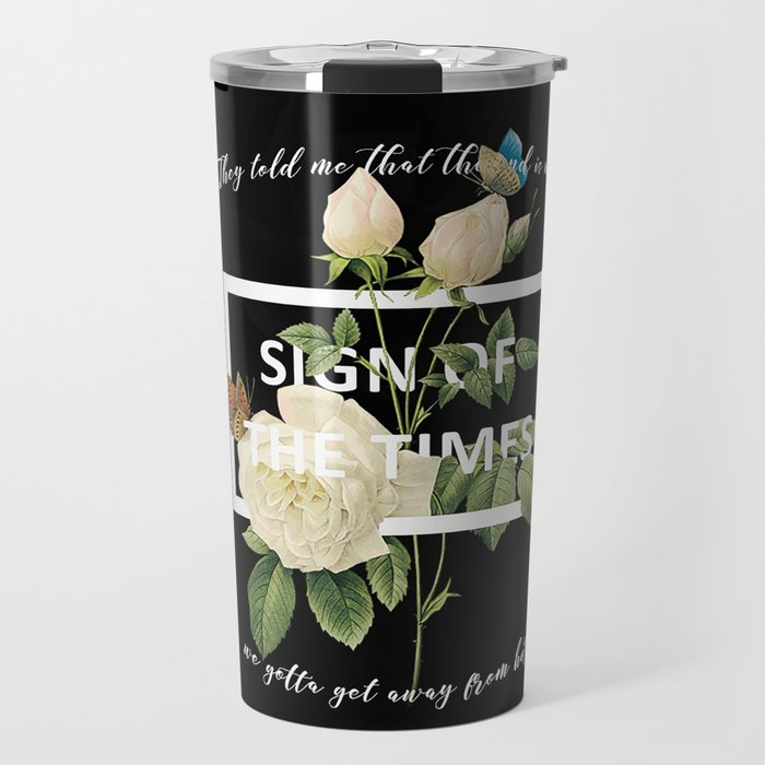 Harry Styles Sign Of The Times graphic design Travel Mug