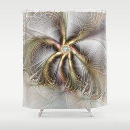 Wall Decor, Abstract Fractal Art Shower Curtain