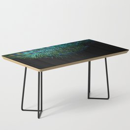 Peacock Details Coffee Table