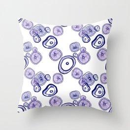 Organic cells Throw Pillow