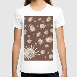 Solaris on chocolate T-shirt