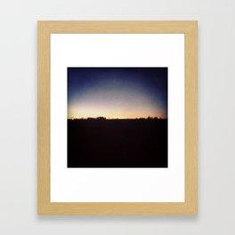 MourningNight. Framed Art Print