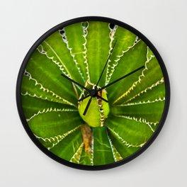 Dizzy Spikes Wall Clock