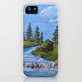 On The Creek iPhone Case