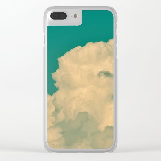 Reach For The Sky! Clear iPhone Case