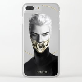 7 sins: Wrath Clear iPhone Case