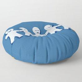 On Fire Floor Pillow
