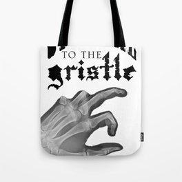 Official tothe Gristle-E blk Tote Bag