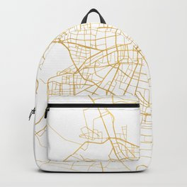 SANTIAGO DE CHILE CITY STREET MAP ART Backpack
