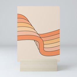 Tangerine Ribbon Mini Art Print