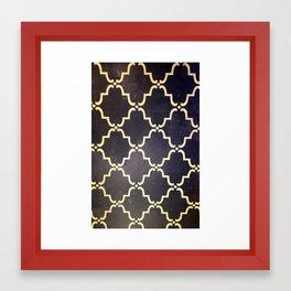 Studio Pattern Framed Art Print