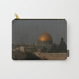 Dome of the Rock - Kipat Hasela - Qubbat As-Sakhrah - Jerusalem Carry-All Pouch