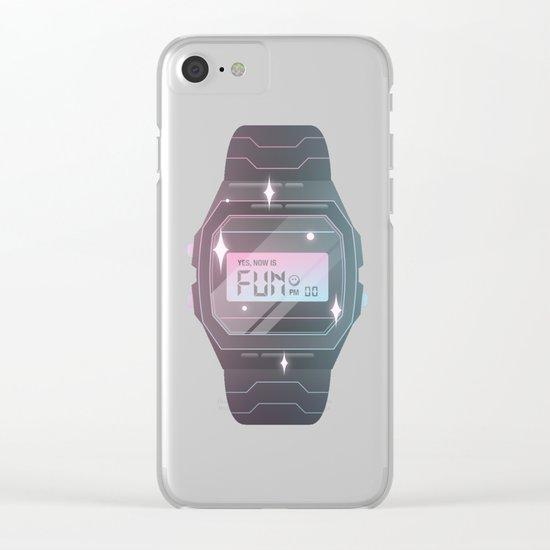 It's Fun PM Clear iPhone Case