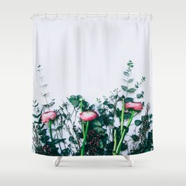 Peeking Nature Series Shower Curtain