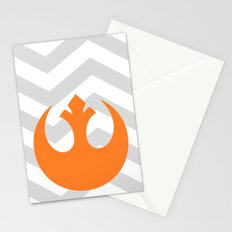 Star Wars Rebel Alliance Chevrons Stationery Cards