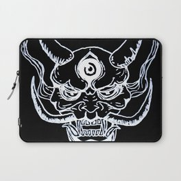 Black Water Oni Laptop Sleeve