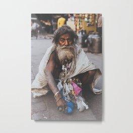 New Delhi I Metal Print