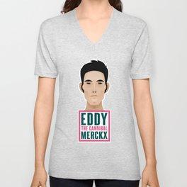 """Eddy """"THE CANNIBAL"""" Merckx Unisex V-Neck"""