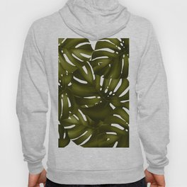 monstera leaves 3 Hoody