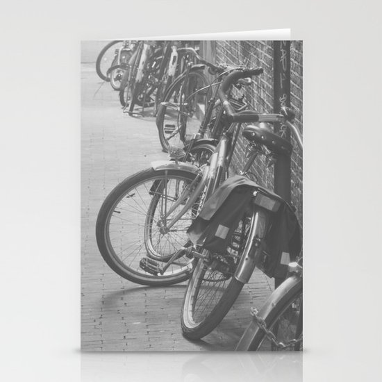 amsterdam bicycles... Stationery Cards