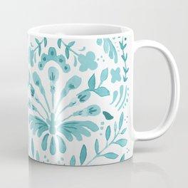 Floral folk-art Coffee Mug
