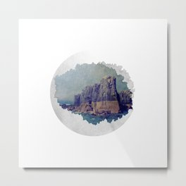 North Rocks Metal Print