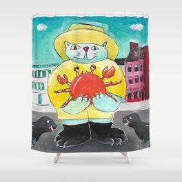 Maryland Cat Shower Curtain