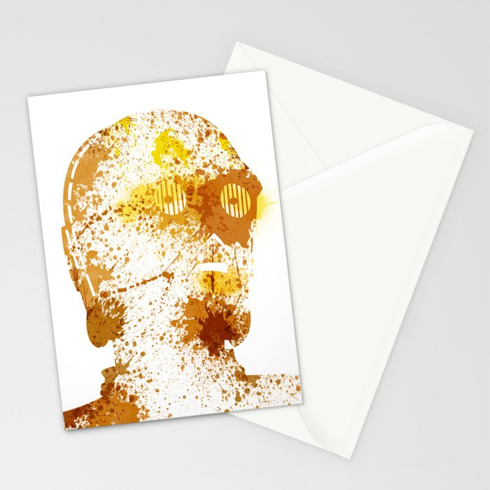 Protocol Droid Stationery Cards