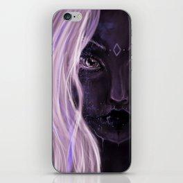 Drow pastel girl iPhone Skin