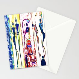 The phases of life Stationery Cards