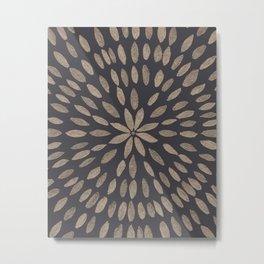 Mandala Flower #5 #drawing #decor #art #society6 Metal Print