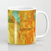 golden Mugs featuring Golden by SensualPatterns