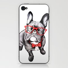 Happy Dog iPhone & iPod Skin