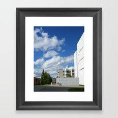 On a Stroll Framed Art Print