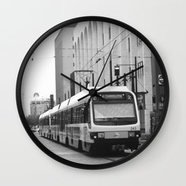 Dallas Life Wall Clock