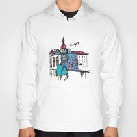 europe Hoodies featuring europe by PINT GRAPHICS