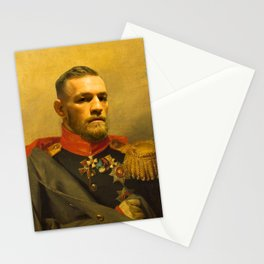 Conor McGregor Classical Painting Stationery Cards