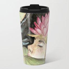 Heavy Crown watercolor Travel Mug
