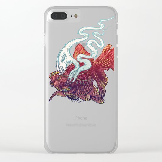 Ocean Jewel Clear iPhone Case