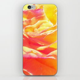 Love and Peace Pastel Rose iPhone Skin