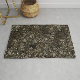 Fit In (autumn night colors) Rug