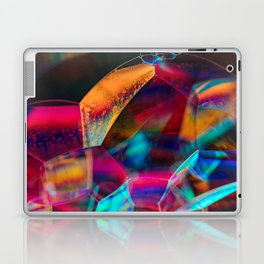 Rainbow Bubbles Laptop & iPad Skin